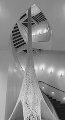 Chicago, Museum of Contemporary Art (MCA), Staircase with Sculpture (Mary Warren 12.8+ Million Views) Tags: chicago museumofcontemporaryart mca art abstract museum staircase stairs sculpture