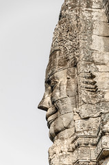 Sharp nose (Cédric Nitseg) Tags: face voyage backpacking bayon nikon asia travel siemreap asie cambodge cambodia backpacker d7000 travelling temple greelow