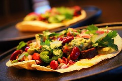 Perron-Style Taco! (corineouellet) Tags: details love cooking bonappetit delish delicious foodphoto canonphoto focus yummy yumyum tasty good foodie foodies food jalapeños cilantro tacos taco beef