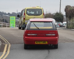 One Owner 1995 Suzuki Swift 1.3GS (occama) Tags: n707hrl 1995 suzuki swift 13 gs old car cornwall uk red bangernomics japanese