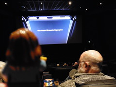 24/100 x in 2019 - Li'l Hannah (amy's antics) Tags: lilhannah cinema people screen 100xthe2019edition 100x2019 image24100