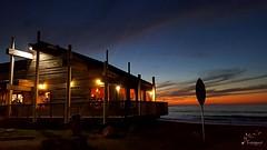 After a long time... Pacifica! (Suma & Mohan) Tags: california pacifica beachbums surfersparadise twilight shack beach cozy bayarea spring endofwinter lovespring borntotravel pacific ocean cellphonephotography