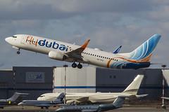 A6-FEQ flydubai Boeing 737-8KN(WL) (Nathan_Ivanov) Tags: vko vnukovo uuww spotting boeing boeing737