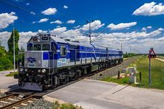 Izraelke 053 (josip_petrlic) Tags: hž hrvatske željeznice croatian railways railway railroad eisenbahn ferrovia gm emd ngt26cw3 karavela nre israel diesel locomotive lokomotiva lokomotive hz 2063