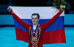 Фигурное катание. Чемпионат Европы по фигурному катанию (Sport24.ru) Tags: спорт sport флаг улыбка сборнаяроссии россия медаль