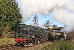 92214 Leicester City (gareth46233) Tags: 92214 9f leicester city loughborugh gcr great central railway
