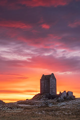 The Tower .... (Mike Ridley.) Tags: smailholmtower smailholm tower scotland sunrise sonya7r2 leefilters