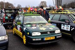 Start Carbage Run winter 2019 - Kopenhagen (FaceMePLS) Tags: kopenhagen copenhagen denemarken denmark scandinavië facemepls nikond5500 rally car voiture pkw wagen voertuig rflr78 1997vwgolfclkatdiesel55kw volkswagen carbageteam66