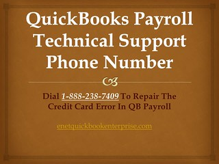 Dail QuickBooks Payroll Technical Support Phone Number 1-888-238-7409