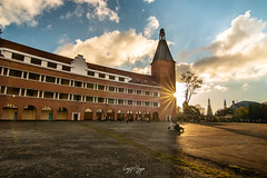 Lycee Yersin, Dalat, Vietnam (longtnguyen) Tags: dalat vietnam family travel architecture buildings college school frencharchitecture french