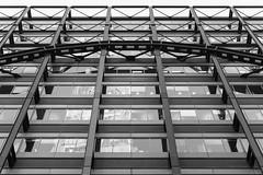 Exchange House (cybertect) Tags: broadgate carlzeissplanart50mmf14mm cityoflondon ec2 exchangehouse london londonec2 som skidmoreowingsandmerrill sonya7ii architecture blackwhite blackandwhite building monochrome structure