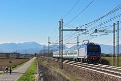 TI E.464.*3*. Grisignano di Zocco (Ivan Furlanis) Tags: treno train zug ferrovia bahn eisenbahn rail railway railroad italia italy italien veneto