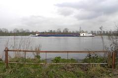 Boat crossing (simonpfotos) Tags: boat water dutchlandscape
