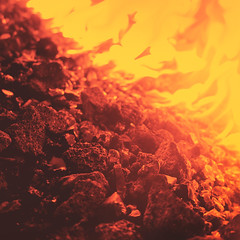 day 80 (Randomographer) Tags: project365 square 365 hot heat flame melt shape create burn fire elemental element lava color combustion burning 80 2019 vii