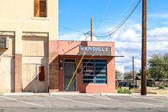 Randall's Barber Shop (Mick L.) Tags: randalls barber shop buckeye arizona