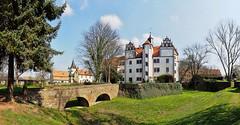 Wasserschloss Podelwitz (Roland Mantke) Tags: schlösser olympus 714mm architektur sachsen