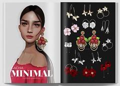 MINIMAL - Flower Earrings GACHA (MINIMAL Store) Tags: season story flower earrings gacha event spring minimal