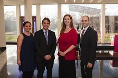 Fernando Gonzalez Saiffe, Consul de Mexico, Claudia Gonzalez, Alicia Chandler and David Kurzmann