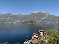 (Paolo Cozzarizza) Tags: italia lombardia como lezzeno panorama acqua riflesso alberi