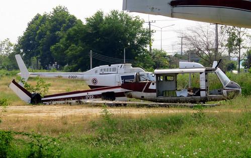 2307 / Bell 206B Jet Ranger II / cn 1906 / Camp Naresuan / Hua Hin / 30Dec18 /