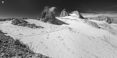 On the roof of Styria (dieLeuchtturms) Tags: dachsteingebirge österreich europa monochrome panorama dachstein alpen oberösterreich gletscher 2x1 langzeitbelichtung steiermark alps austria dachsteinmountains europe styria glacier longexposure longtimeexposure obertraun at