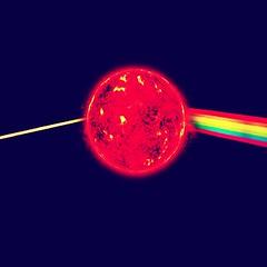 El lado oscuro del sol. (the cherry blues project) Tags: darksideofthemoon elladooscurodelsol darksideofthesunsun luna moon thecherrybluesproject soundartconceptart pinkfloyd