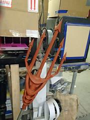 Shrimp Fork (thorssoli) Tags: cosplay costume prop replica aquaman trident fork