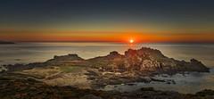Baroña (Noel F.) Tags: sony a7r a7rii ii fe 24105 castro de baroña porto do son sunset solpor galiza galicia barbanza