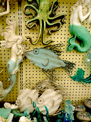 Winter Mermaids (M.P.N.texan) Tags: spring decor decoration decorations figures figurine figurines mermaid mermaids fish store display photoshopping
