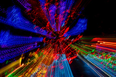 Electric (Martin Smith - Having the Time of my Life) Tags: electric colour color blur vandusenbotanicalgarden slowshutter
