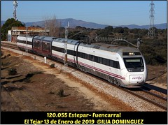idn7653 (ribot85) Tags: 120055 55 120 1205 el tejar eltejar vitoria publicidad tren trenes trains railways renfe railroad actren avgl caf