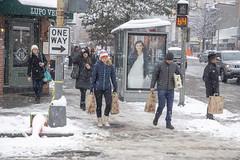 Snow in the city - 14th Street Corridor (Tim Brown's Pictures) Tags: washingtondc city urban 14thstreetcorridor ustreet winter snow snowing snowstorm snowflakes january132019 people pedestrians washington dc unitedstates
