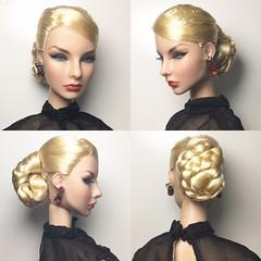 Merveilleuse Agnes, hair-restyled by me. (Hoang Anh Khoi) Tags: hairrestyled integritytoys fashionroyalty merveilleuse agnesvonweiss