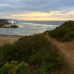 A View of Del Mar North Beach (hinxlinx) Tags: del mar delmar north beach socal southern california landscape ocean sea grass