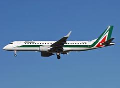 EI-RNA Embraer 190 Alitalia (@Eurospot) Tags: eirna embraer emb190 alitalia toulouse blagnac