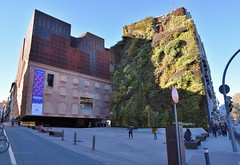 Vertical Garden (CaixaForum) (jpellgen (@1179_jp)) Tags: madrid spain spanish europe european travel nikon d7200 sigma 1770mm winter 2019 january plants garden verticalgarden caixaforum patrickblanc art publicart architecture