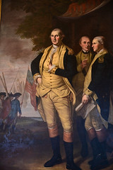 Charles Willson Peale - Washington, Lafayette and Tilghman at Yorktown, 1784 in Maryland State House - Annapolis MD (mbell1975) Tags: annapolismarylandunitedstatesofamericauscharleswillsonpealewashington lafayetteandtilghmanatyorktown1784inmarylandstatehouseannapolismd us usa america american md maryland capitol capital assembly government state president general military army washington george colonial painting