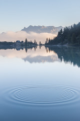 Aviolo lake in Adamello Park province of Brescia Lombardy Italy Europe (AndreaBelussi) Tags: adamello adamellopark alps aviolo aviololake bresciaprovince camonicavalley clouds europe fog italian italianalps italy lake lakes lakesdistrict landscape lombardy mountain mountains outdoor park reflection sunrise valcamonica valley