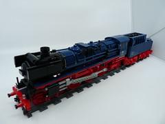DB BR 01 (Dr Snotson) Tags: db deutsche bahn br baureihe 01 lego train moc
