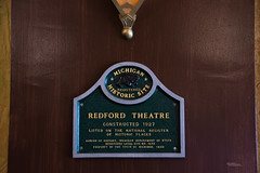 Redford Theatre 2019 3b (White Shadow 56) Tags: redford theatre tamron 28300mm sigma tokina 1737mm detroit ropes seats art japanese restoration shows music tickets stage lighting acting dance historic places d600 nikon