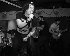 Broken Spirit, the Fixin' To, St Johns OR, 2-22-2019 (convertido) Tags: black white photography concert fixin to st johns or punk rock synth crust postpunk post goth dark wave australia pac nw
