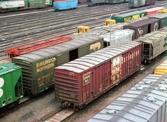 CB&Q Class XM-4B 49173 (Chuck Zeiler54) Tags: cbq class xm4b 49173 burlington railroad boxcar box car freight cicero train chuckzeiler chz bn 318592 carpac