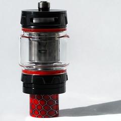 Lighthouse (arbyreed) Tags: arbyreed macromondays hardlight smok smokprince vape vaping vappipe close closeup whitebackground red squareformat