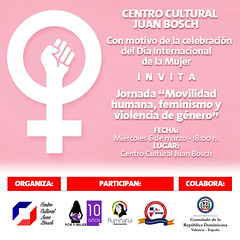 "Jornada ""Movilidad humana, feminismo y violencia de género"" • <a style=""font-size:0.8em;"" href=""http://www.flickr.com/photos/136092263@N07/46432573315/"" target=""_blank"">View on Flickr</a>"