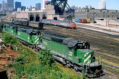 BN SD40-2 7105 (Chuck Zeiler 50) Tags: bn sd402 7105 railroad emd locomotive chicago train chuckzeiler chz
