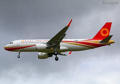 F-WWDL Airbus A320 Chengdu Airlines (@Eurospot) Tags: fwwdl airbus a320 8784 chengdu toulouse blagnac