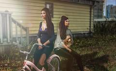 . b r e a t h e r . (Cataleya.) Tags: sl secondlife avatar soley digitalpainting virtualworld cataleya bike