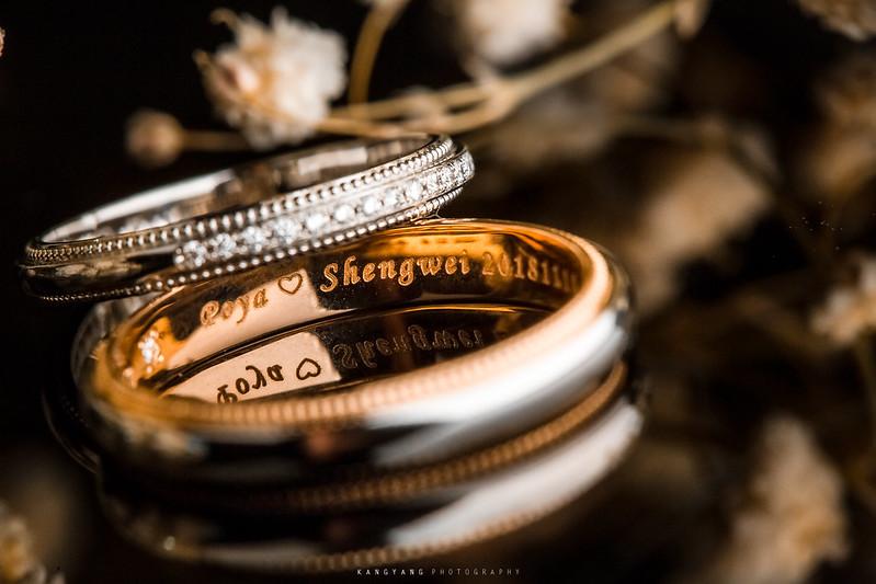 [台中婚攝] 勝為&博雅 早儀午宴 婚禮紀錄 @台中林皇宮花園 紅玫瑰廳| #婚攝楊康