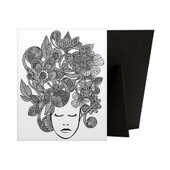 It's All In Your Head - Relieve stress while creating art for your walls with a Coloring Canvas. Each piece is printed on high quality canvas and then mounted to a sturdy solid frame to ensure a comfort able surface for coloring.  Check out our website: h (spaceplug) Tags: blackwhite flowers art canvas shop spaceplug like happy buy sell like4like canvasdem girl cute head followus canvasart coloring follow4follow