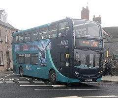 Arriva North East 7556 SN15 LLG (08/03/2019) (CYule Buses) Tags: servicex15 arrivabus arrivamax arrivanortheast enviro400 alexanderdennis alexanderdennisenviro400 sn15llg 7556
